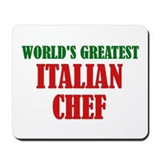 Greatest Italian Chef Mousepad