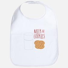 Milk And Cookies Bib