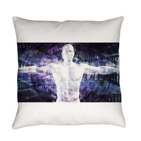 Biotechnology Everyday Pillow