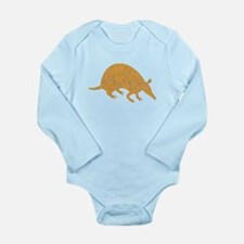 Distressed Brown Armadillo Body Suit