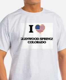 I love Glenwood Springs Colorado USA Desig T-Shirt