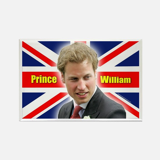 HRH Prince William Rectangle Magnet