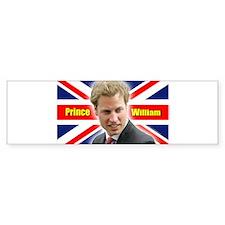 HRH Prince William Bumper Sticker