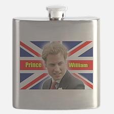 HRH Prince William Flask