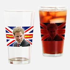 HRH Prince William Drinking Glass