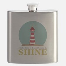 Like A Lighthouse Flask