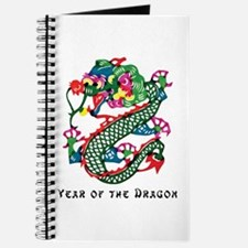 Chinese Paper Cut Dragon Journal