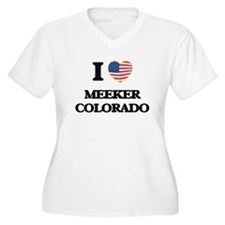 I love Meeker Colorado USA Desig Plus Size T-Shirt