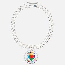 Autism Awareness Heart Bracelet