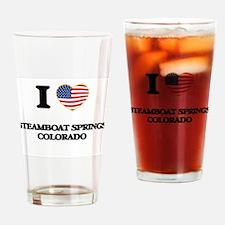 I love Steamboat Springs Colorado U Drinking Glass
