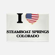 I love Steamboat Springs Colorado USA Desi Magnets