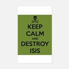 Destroy Isis, Anti Muslim Djihadists Decal