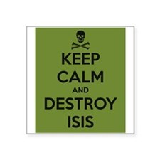Destroy Isis, Anti Muslim Djihadists, Anti Sticker