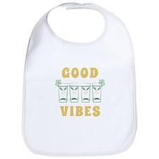 Good Vibes Bib