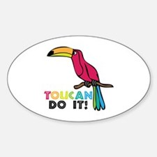Toucan Do It Decal
