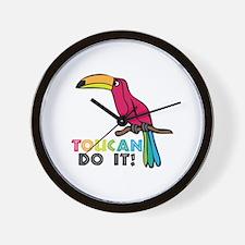 Toucan Do It Wall Clock