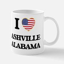 I love Ashville Alabama USA Design Mug