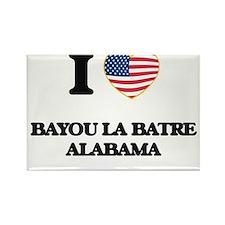 I love Bayou La Batre Alabama USA Design Magnets