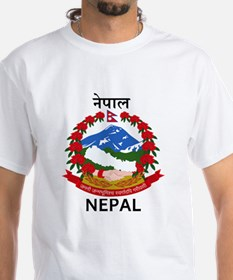 Nepal Co Arms Double Sided T-Shirt