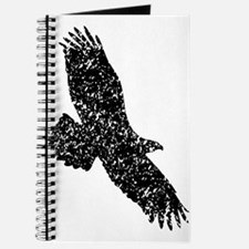Distressed Eagle Silhouette Journal