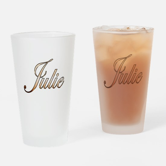 Gold Julie Drinking Glass