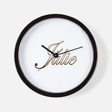 Gold Julie Wall Clock