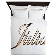 Gold Julia Queen Duvet
