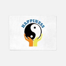 Happiness 5'x7'Area Rug