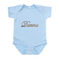 Gold Danna Body Suit