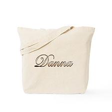 Gold Danna Tote Bag