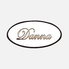 Gold Danna Patch