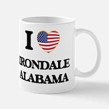 I love Irondale Alabama USA Design Mug