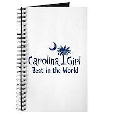 Blue Carolina Girl Best Journal