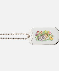 Bunnies and Chick Dog Tags