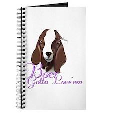 Boer Goat Gotta Love 'em Journal