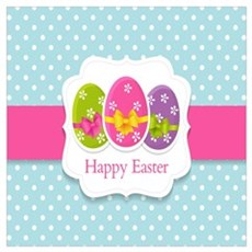Happy Easter Canvas Art