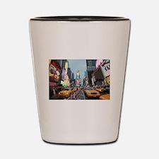 Times Square New York City Pro Photo Shot Glass