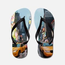 Times Square New York City Pro Photo Flip Flops
