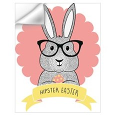 Hipster Easter Wall Decal