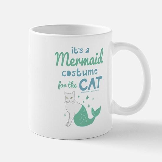 Modern Family Mermaid Cat Mug