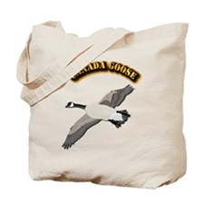 Canada goose-w Text Tote Bag