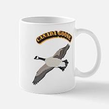 Canada goose-w Text Mug