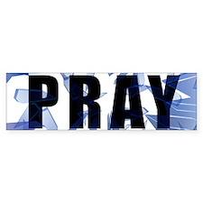 In Case of Emergency Pray Bumper Bumper Sticker