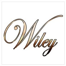 Gold Wiley Canvas Art
