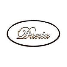 Gold Dania Patch