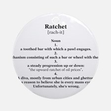 ratchet Ornament (Round)