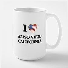 I love Aliso Viejo California USA Design Mugs