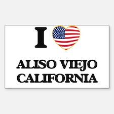 I love Aliso Viejo California USA Design Decal
