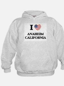 I love Anaheim California USA Design Hoodie