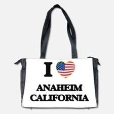 I love Anaheim California USA Design Diaper Bag